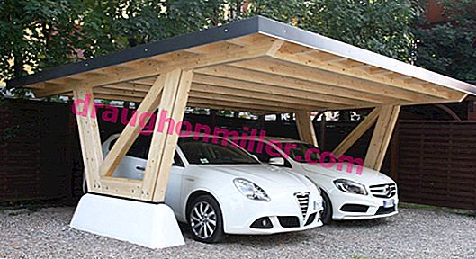 Wooden carport: how to build shelter for your car