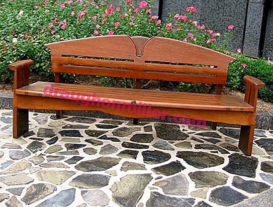 Building a garden bench: 5 ways to make a bench with your own hands