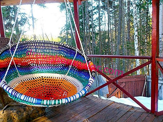 Do-it-yourself hanging chair: two step-by-step master classes