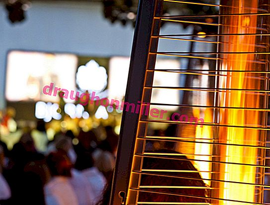 How to choose a street gas heater for a summer residence: a short educational program